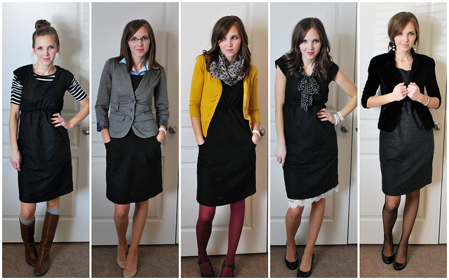5 Ways To Wear An Lbd From Merricks Art Putting Me Together