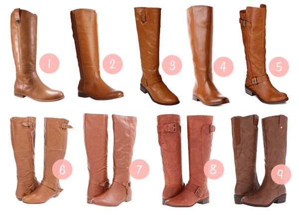Fall Shopping: Cognac Boots - Putting