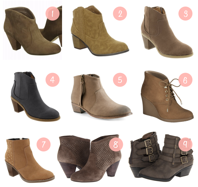 Fall Shopping: Ankle Boots - Putting Me