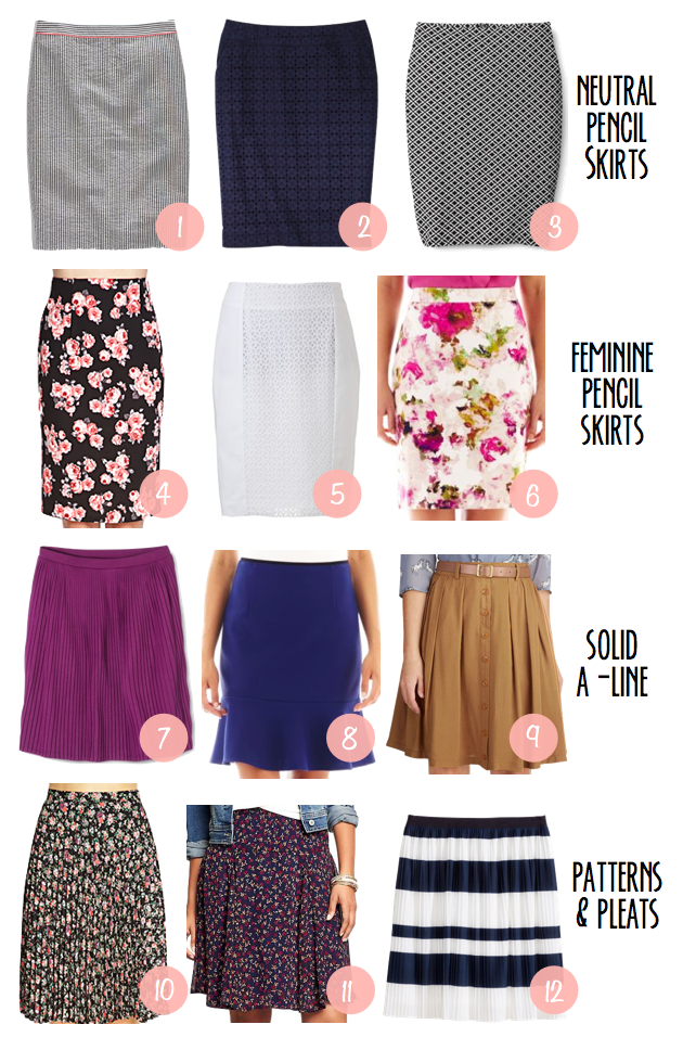"""49dd424d15a4 Can someone tell me why it seems pretty much impossible to find knee-length  skirts? Then tack on the word """"affordable"""" and I feel like giving up on the  ..."""