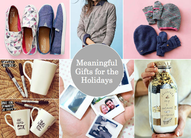 Meaningful Gifts for the Holidays - Putting Me Together