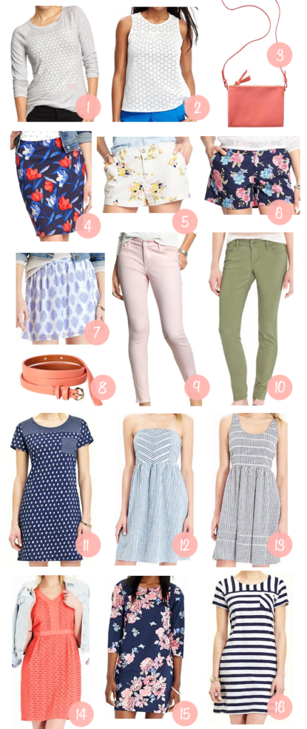 Shopping Help Old Navy Spring Preview 30 Off Putting