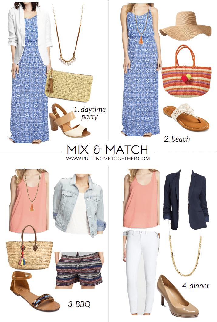 Match clothes mix 25 Ways