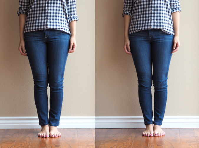 How to make skinny jeans tighter