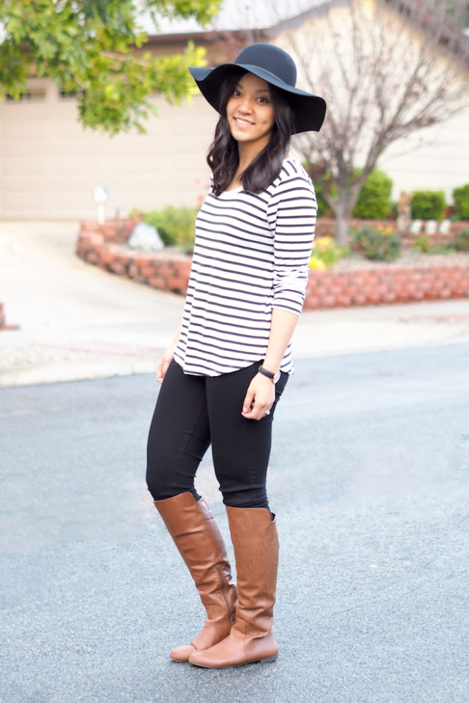 3 Outfits With a Floppy Hat - Putting Me Together