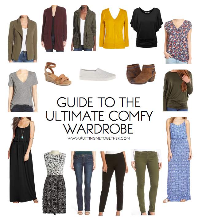 How to Build Cute Comfortable Outfits