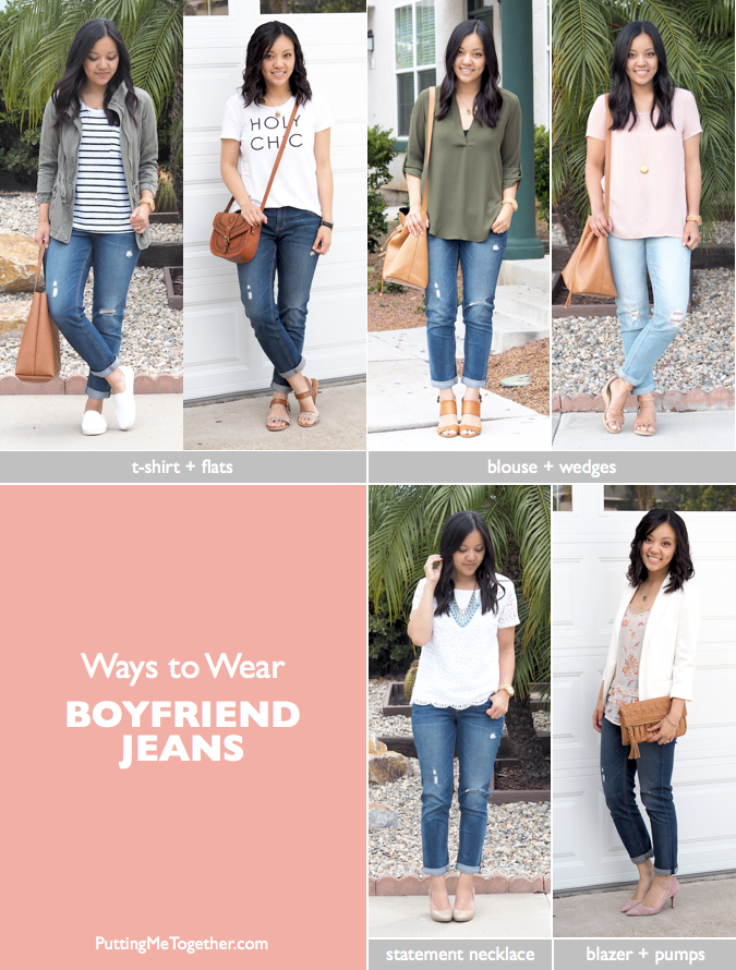 outfits with boyfriend jeans