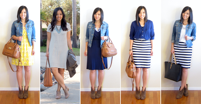Outfit Ideas for the Beginning of Fall