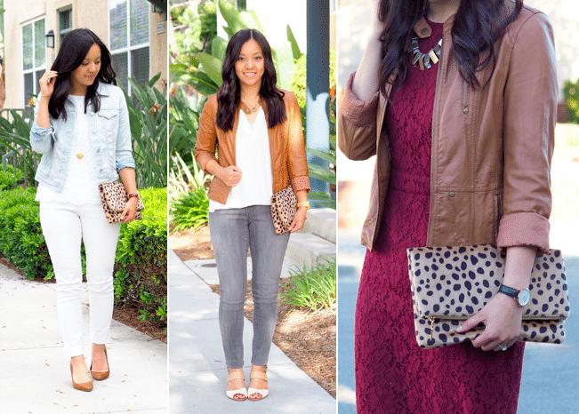 Leopard Print Clutch Outfits