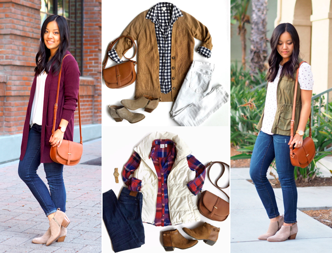 Outfits with Tan Crossbody Bag