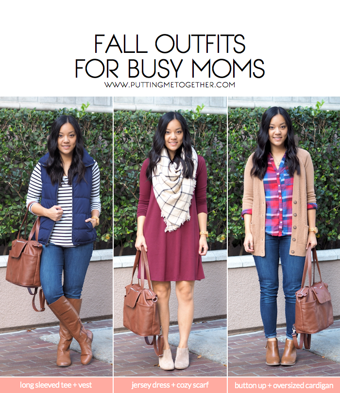 Fall Outfits for Busy Moms