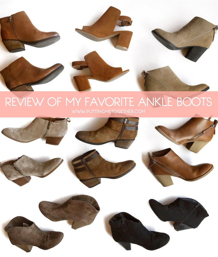 86398ac207f Comparing Ankle Boots  Which Should You Buy  - Putting Me Together