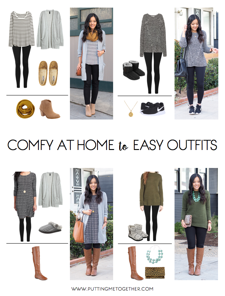 Cute Comfy Outfits at Home