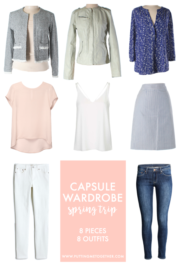 What to Pack for Vacation: Spring Getaway Trip