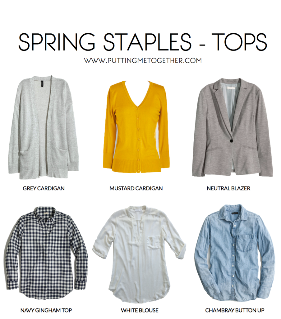 Spring Wardrobe Staples