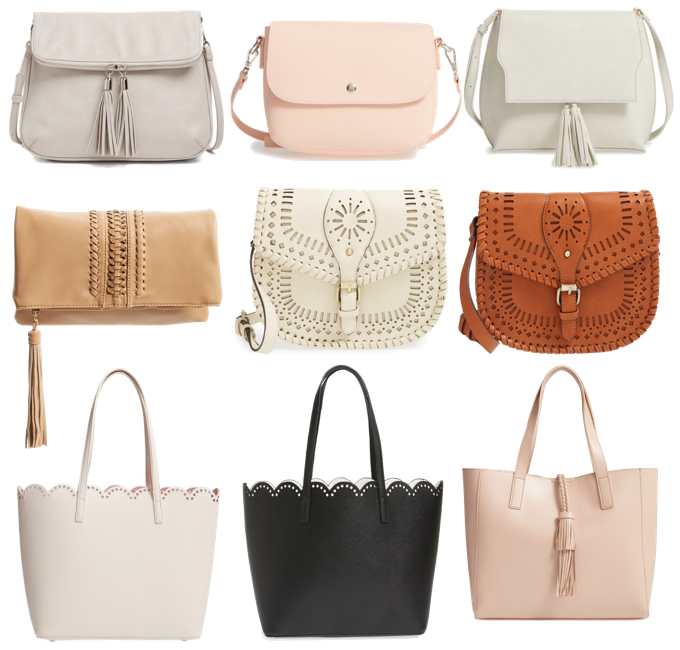 Purses with Cutouts