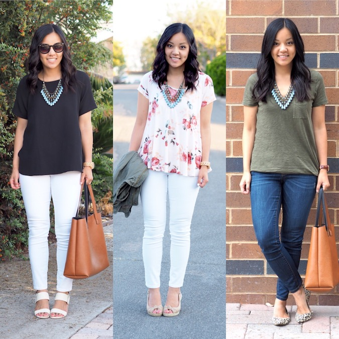Turquoise Statement Necklace Outfits