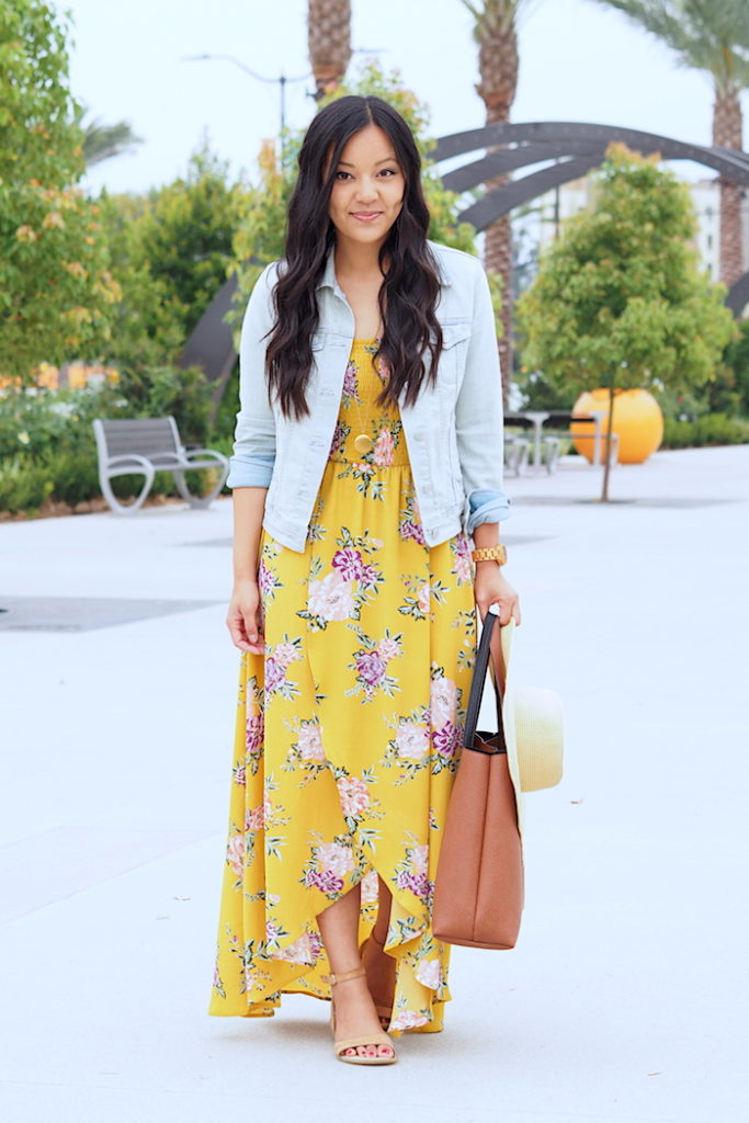 Where To Find A Dress For A Wedding 48 Awesome yellow floral print dress