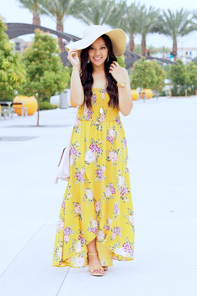 Where To Find A Dress For A Wedding 65 Luxury yellow floral print dress