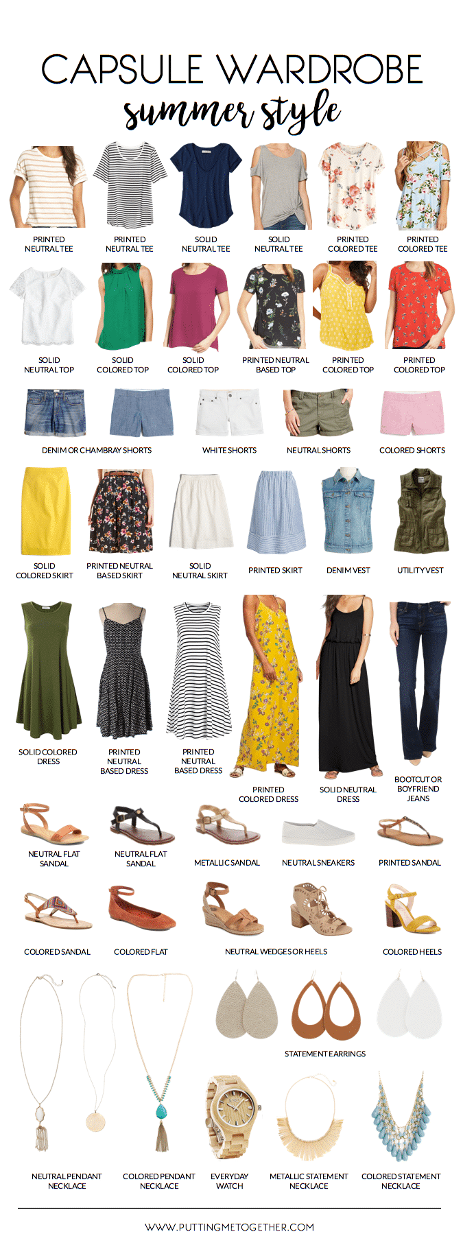 Summer Capsule Wardrobe + 2 Weeks of Outfits