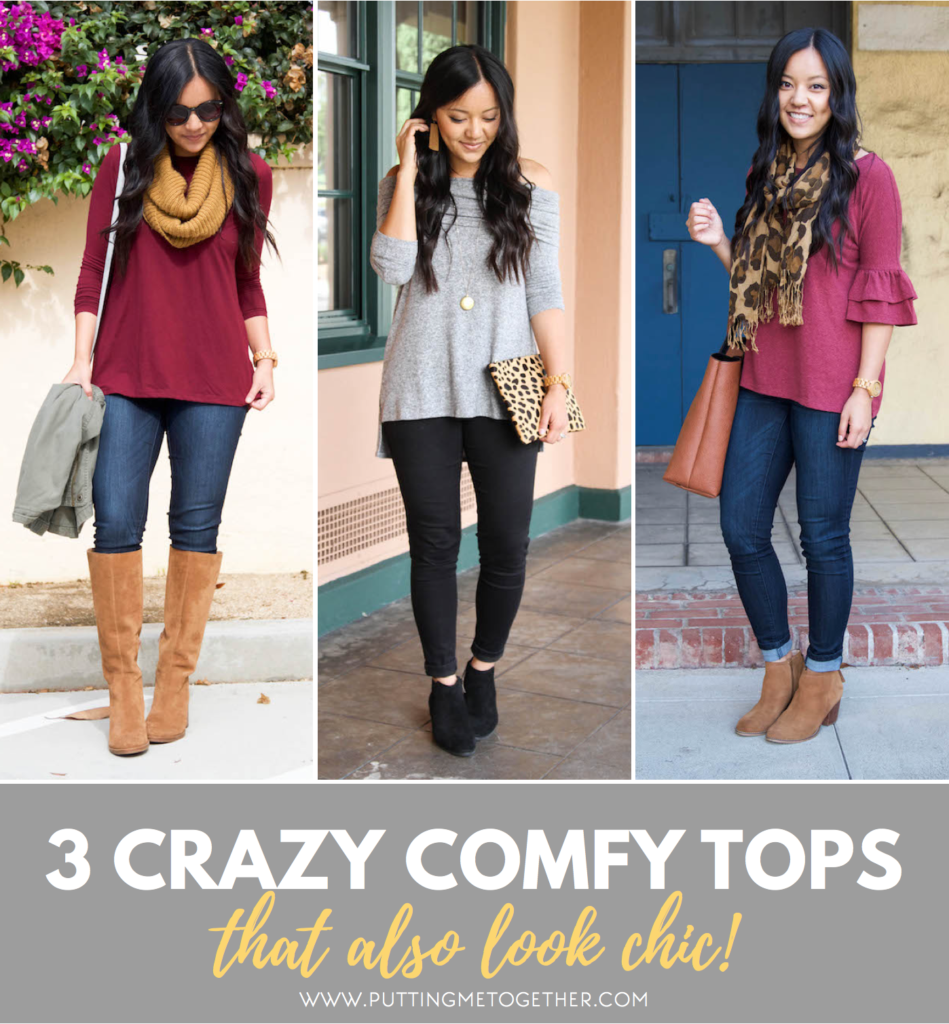 Comfy Tops That Also Look Chic!