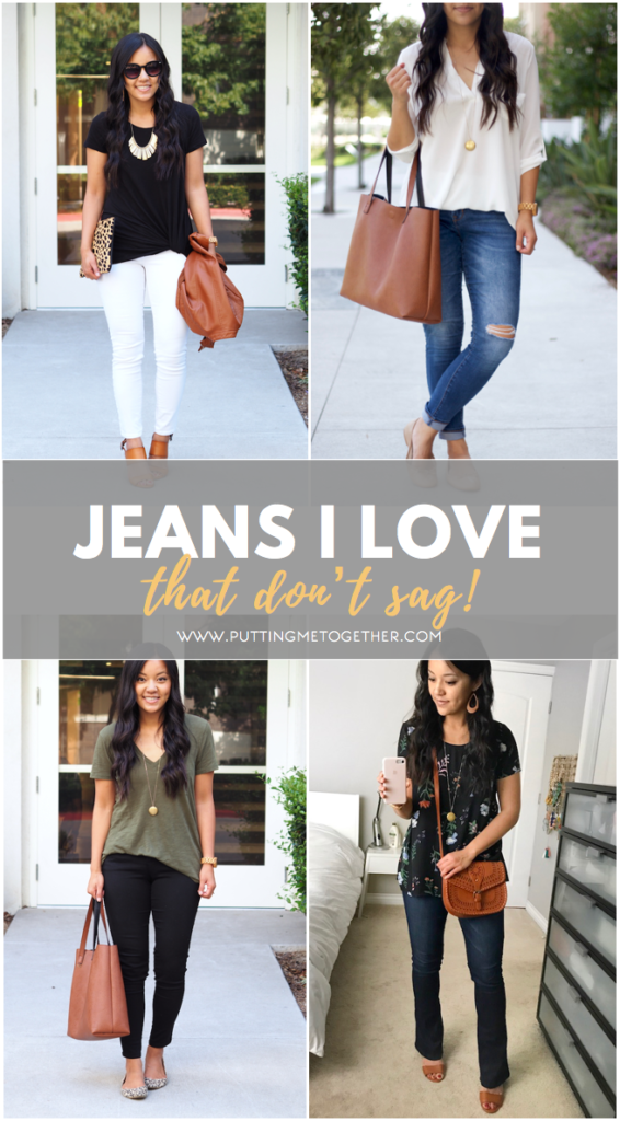 Pairs of Jeans That Don't Sag!