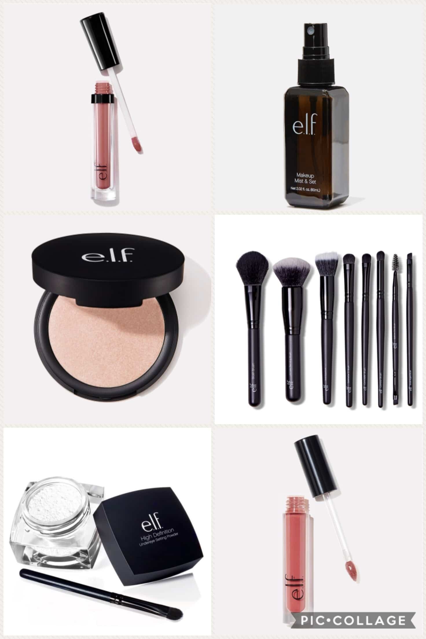 ELF makeup products on sale