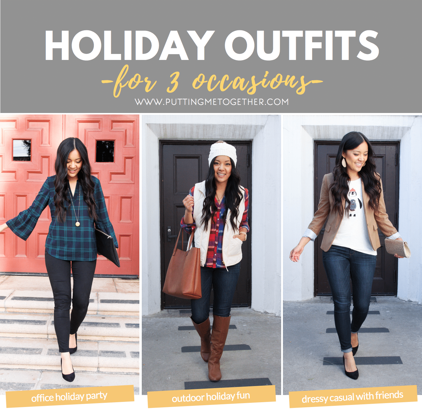 Outfits to Wear for Different Holiday Activities