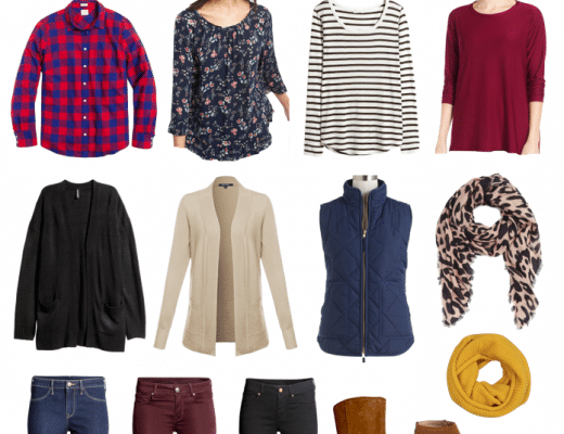Capsule Wardrobe: What to Pack for Thanksgiving