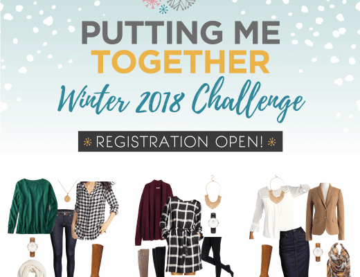 Remix Your Wardrobe with the Putting Me Together Winter 2018 Challenge
