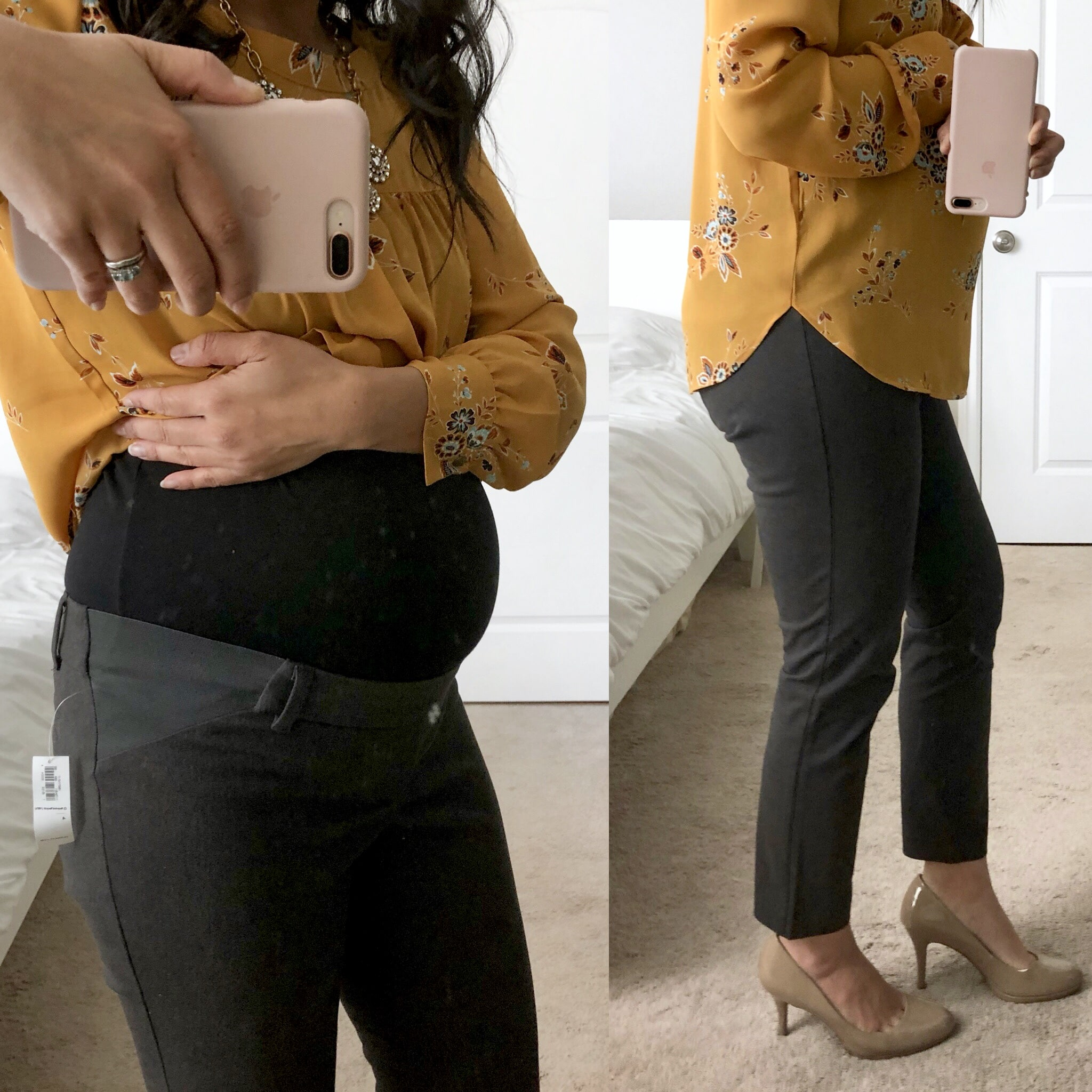 Maternity Style Reviews: Business Casual Maternity Pants