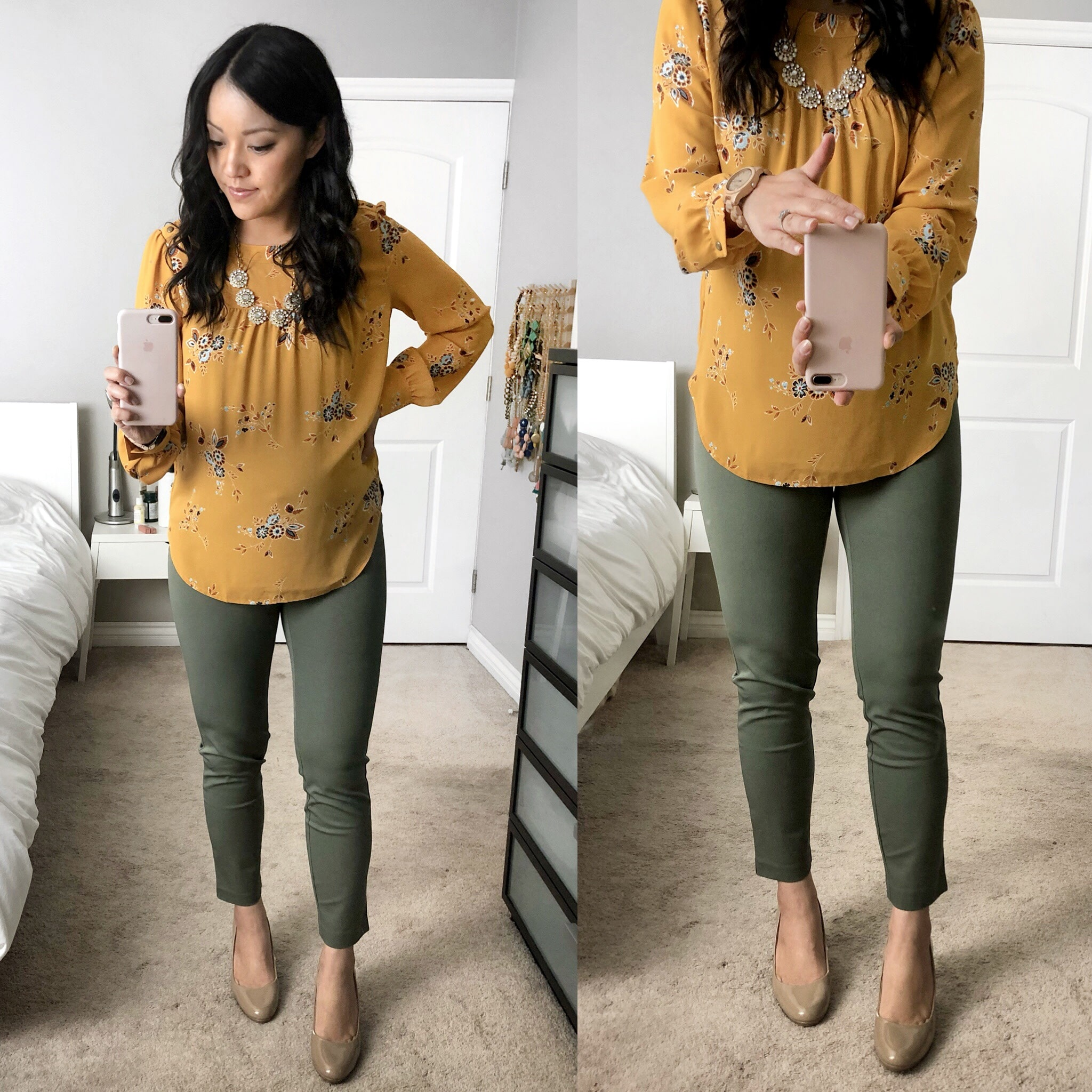 Maternity Style Reviews: Olive Maternity Business Casual Pants