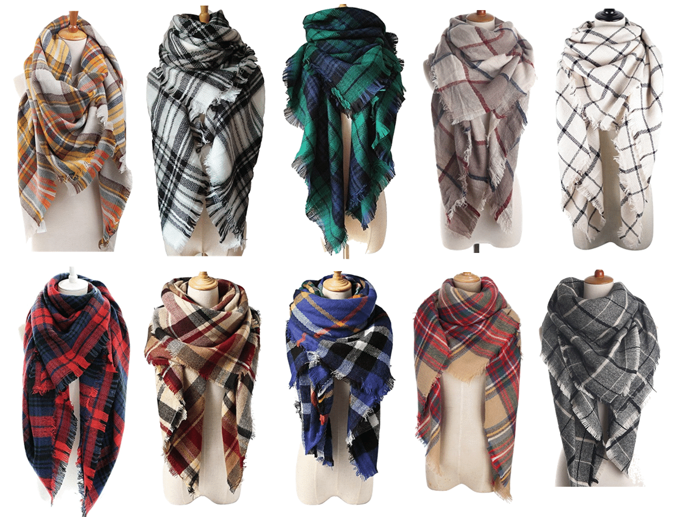 Affordable Blanket Scarves