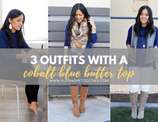 Cobalt Blue Top Outfits