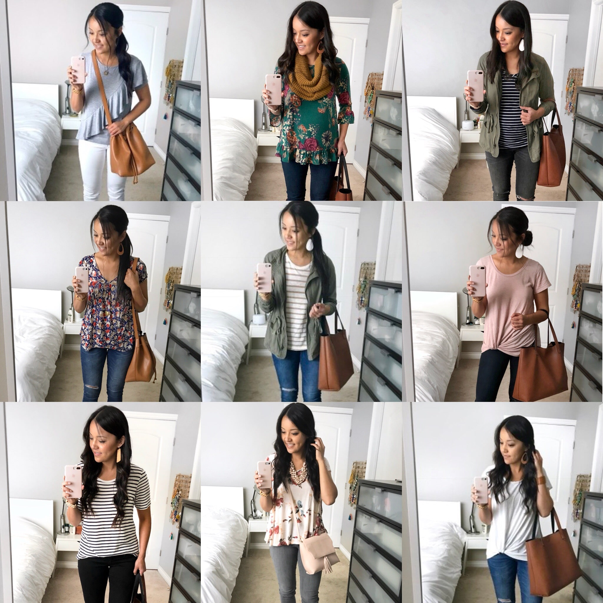 Comfy Casual Knit Tops and Tees