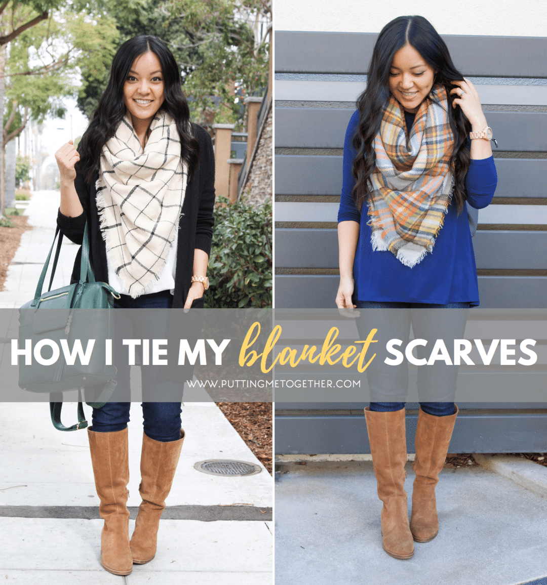 How I Tie My Blanket Scarves
