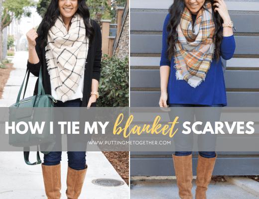 How I Tie My Blanket Scarves