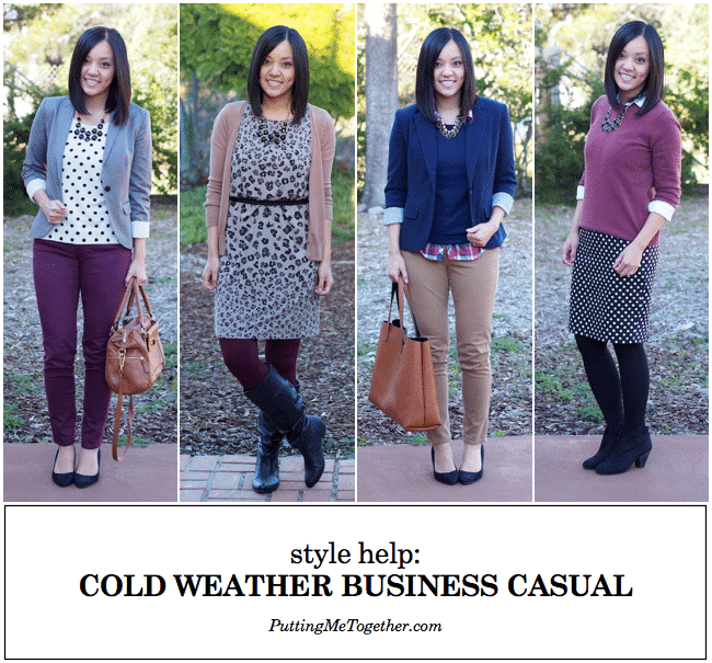 Cold Weather business casual