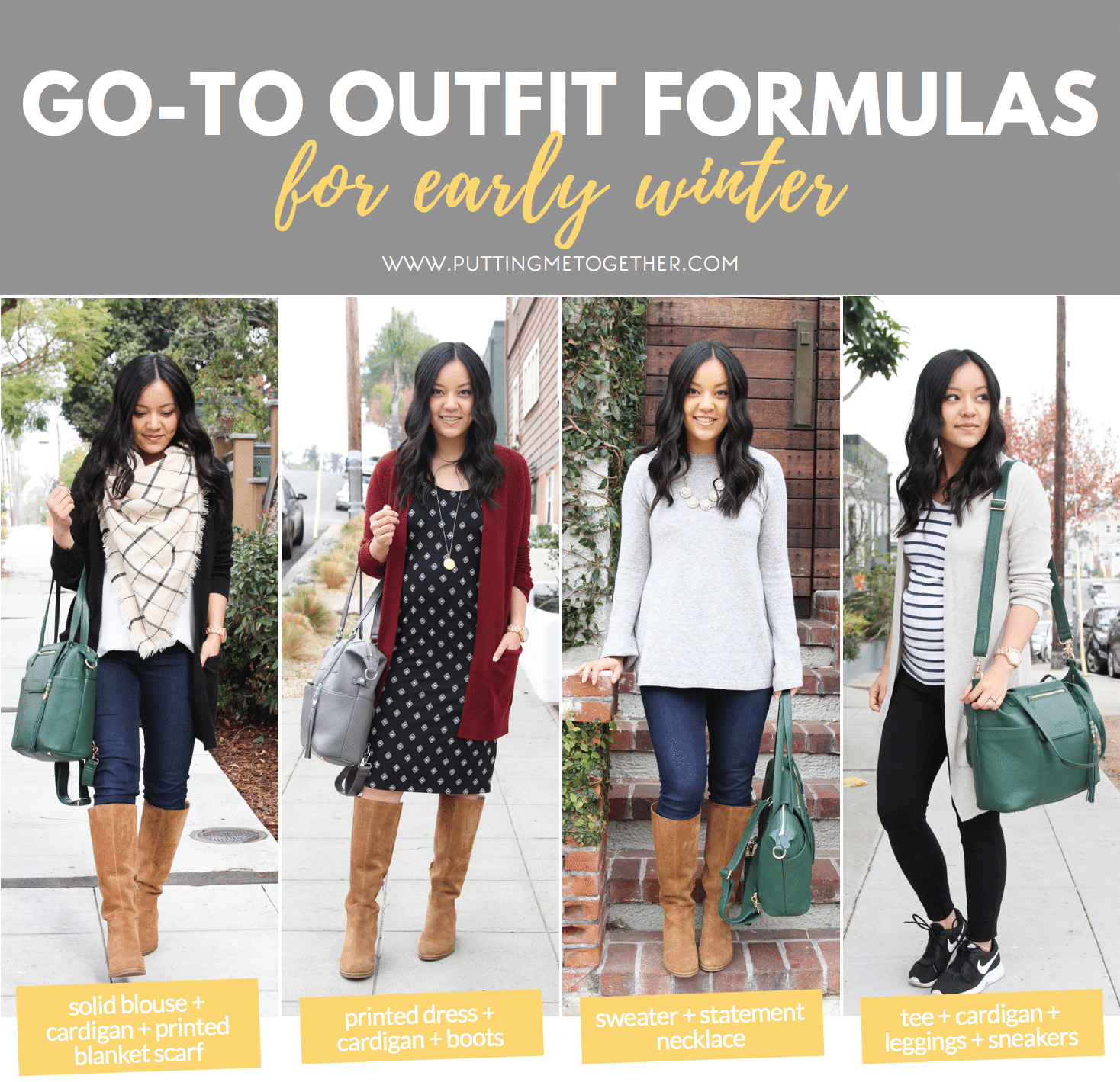 Maternity Outfit Ideas for Winter