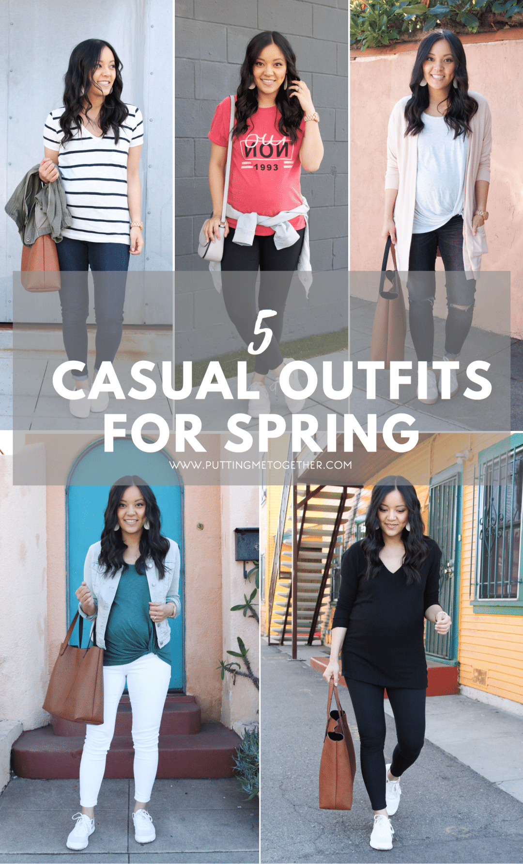 5 Casual Spring Outfits