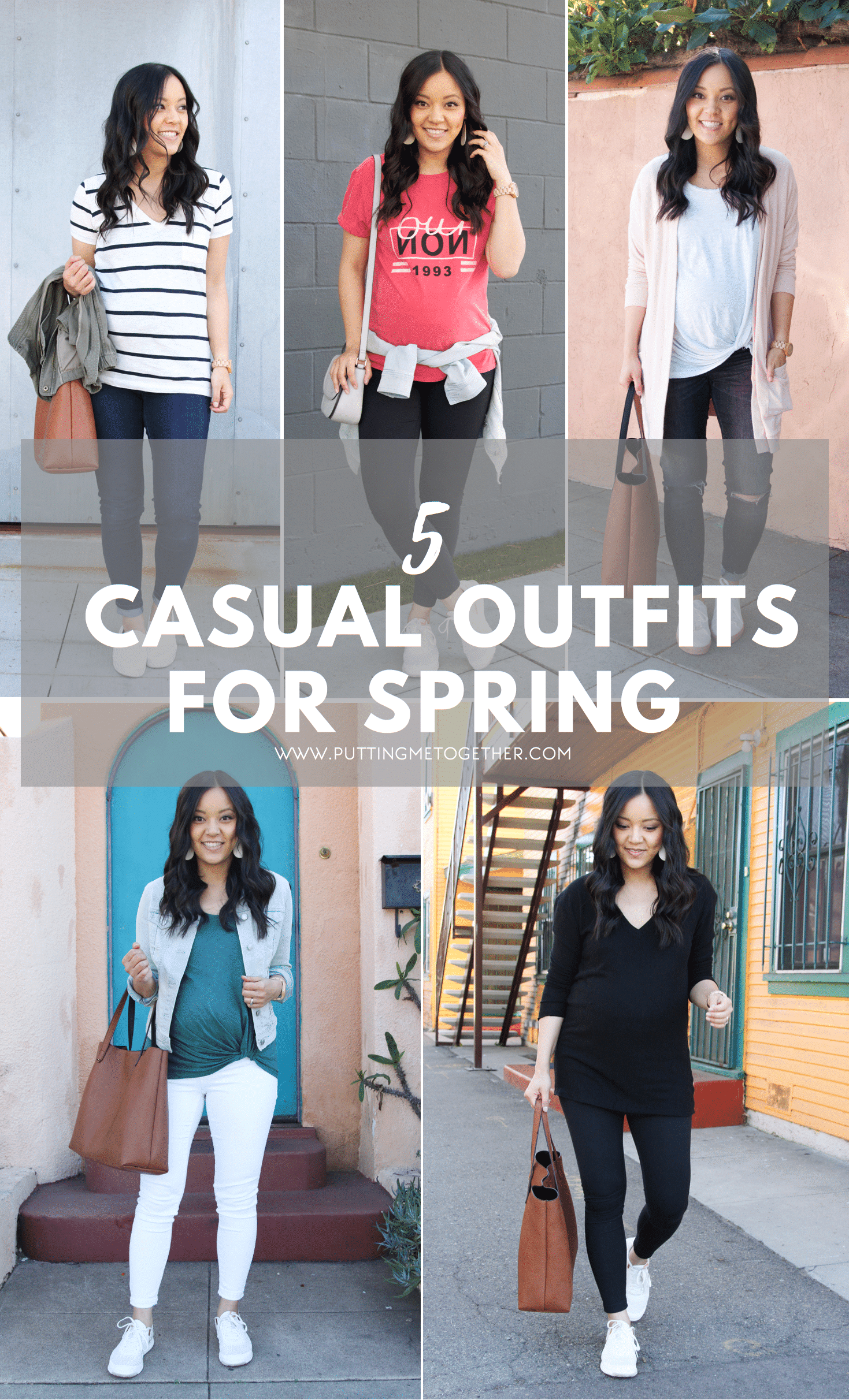 5 Casual Outfits to Get You Ready for Spring + Waterproof Sneakers    3db7544fb