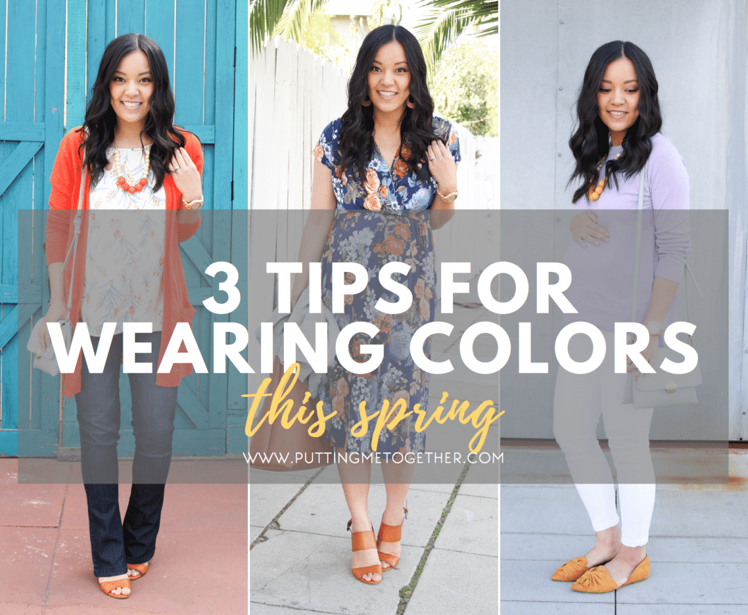 How to Wear Spring Colors