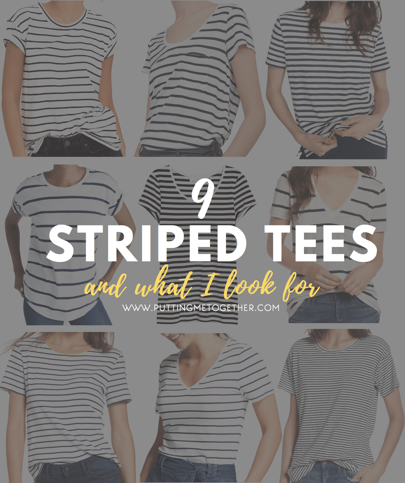 9 Awesome Affordable Striped Tees