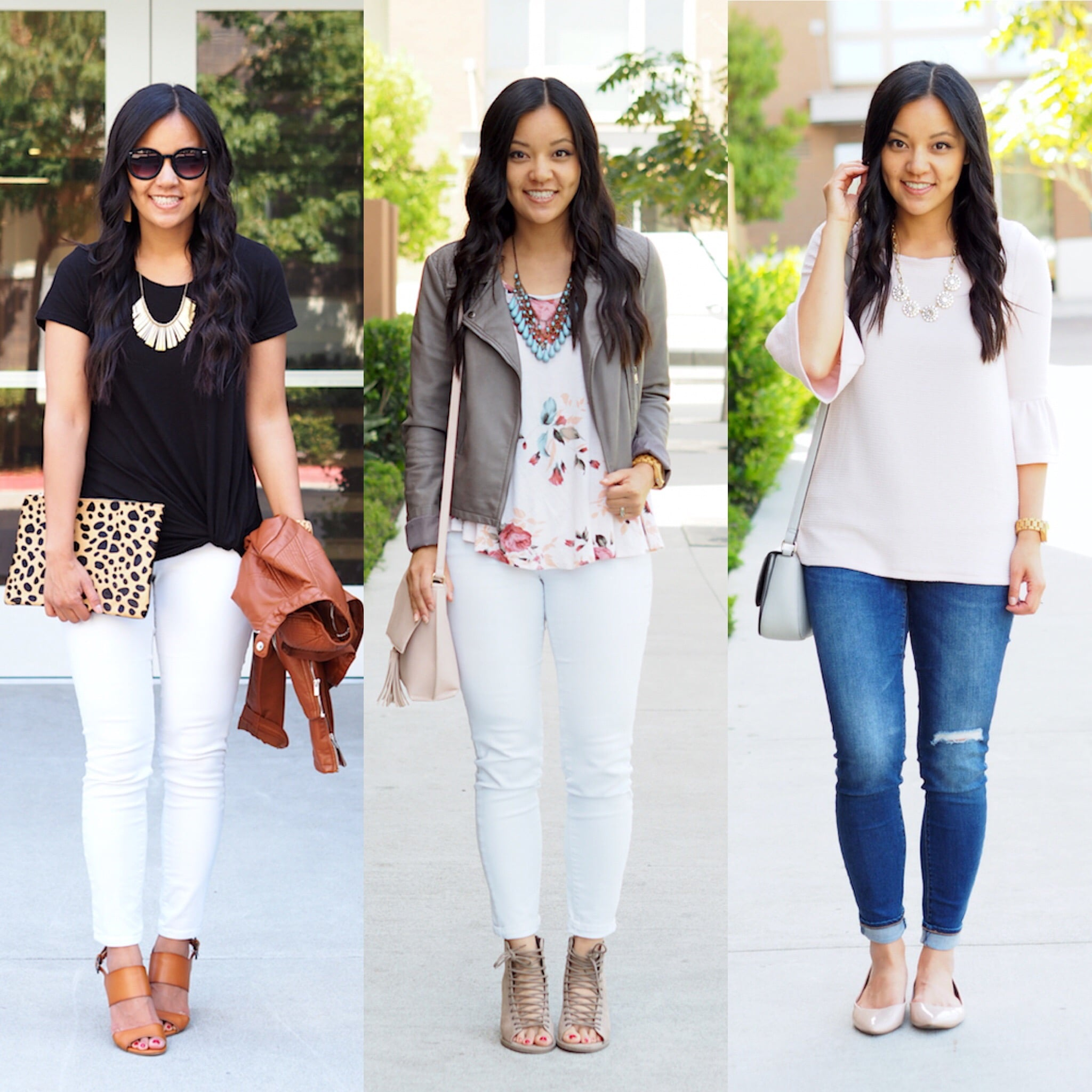 Spring Building Blocks for Dressy Casual Outfits: Statement Necklaces