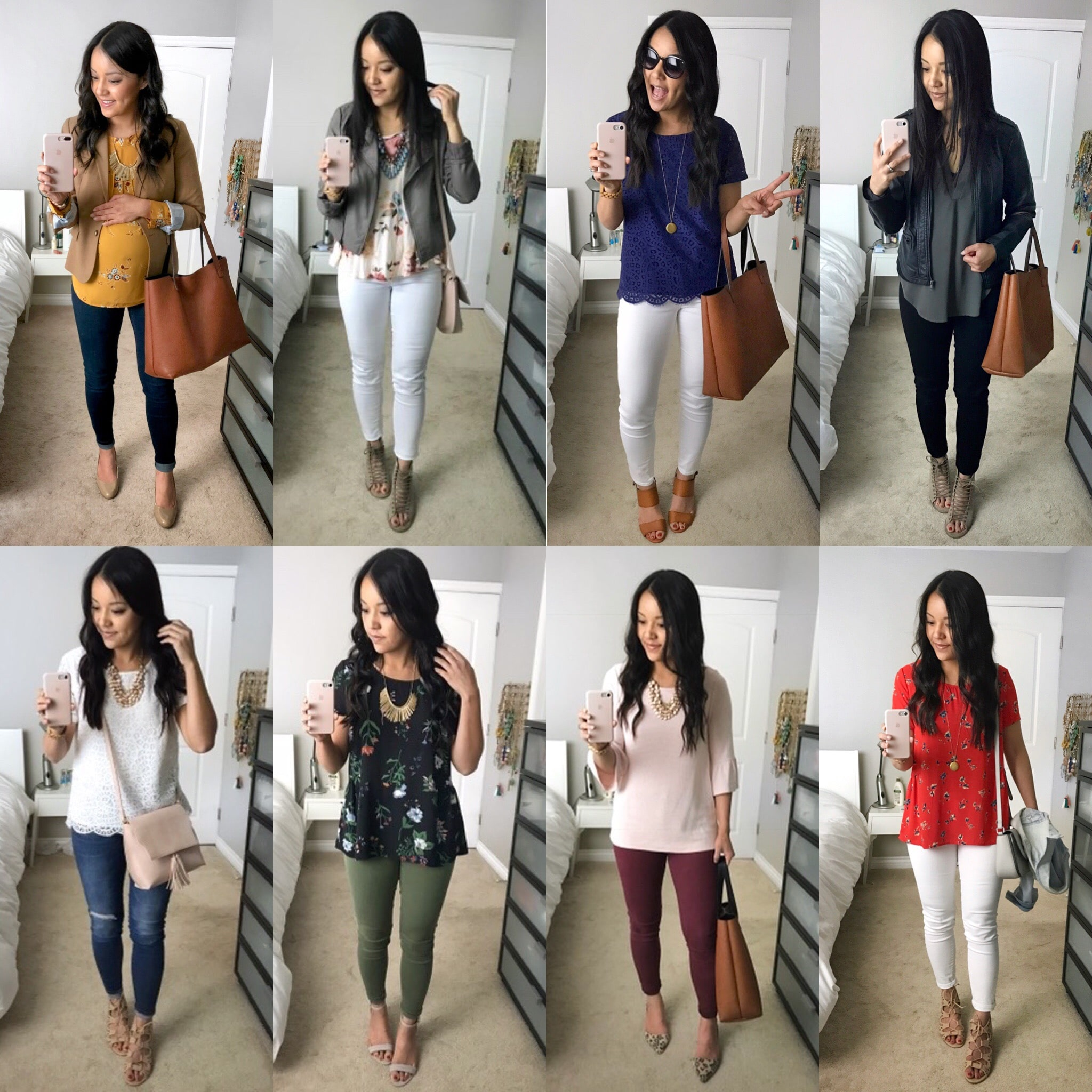 Dressy Casual Spring Outfits