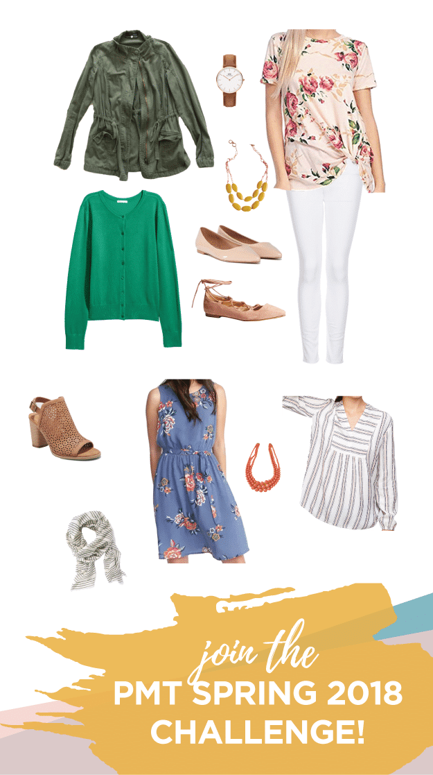 Join the Putting Me Together Spring Wardrobe Challenge!