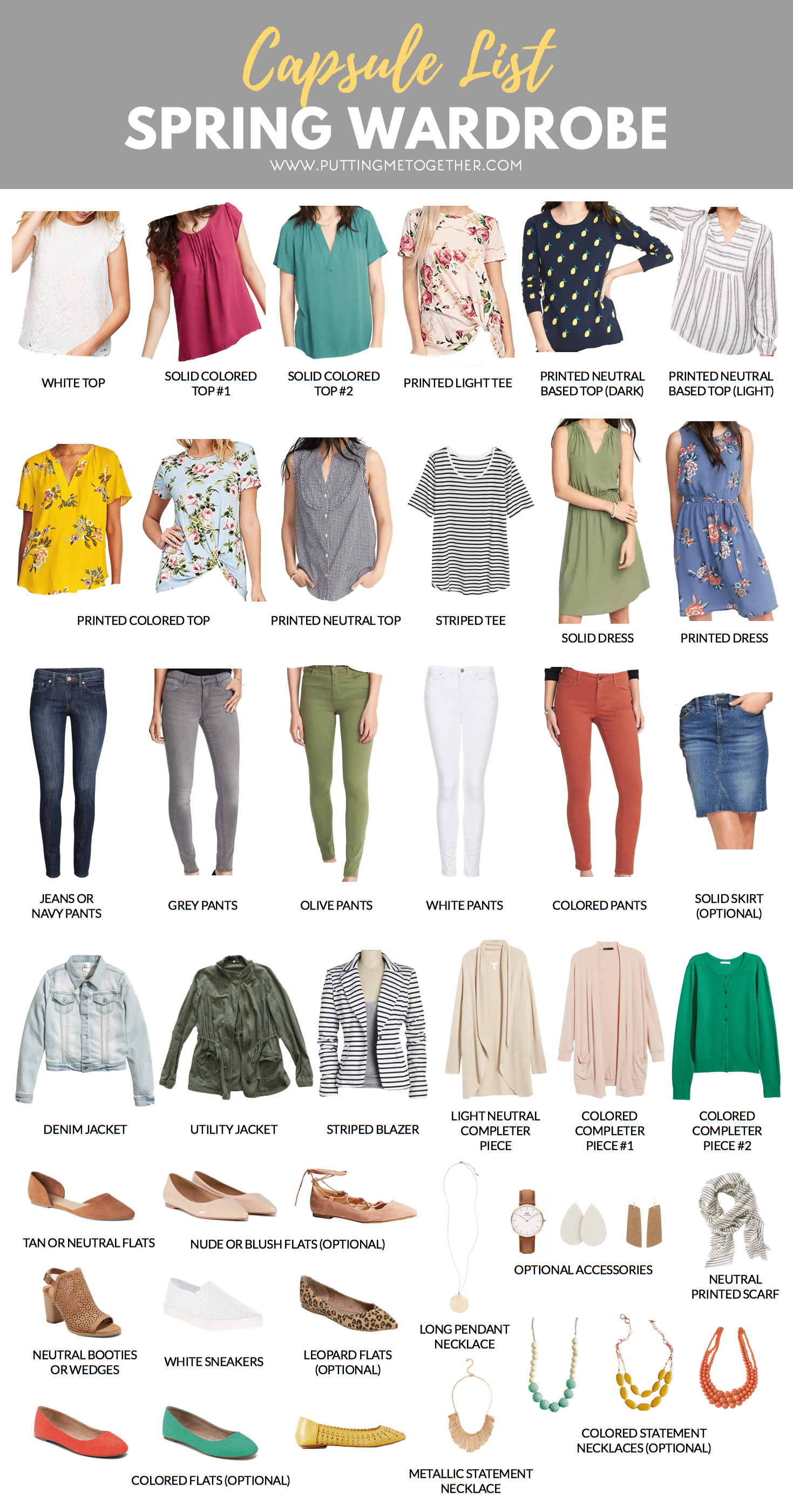 37a7786e648 Spring Capsule Wardrobe  Dressy-Casual Style and Full of Color