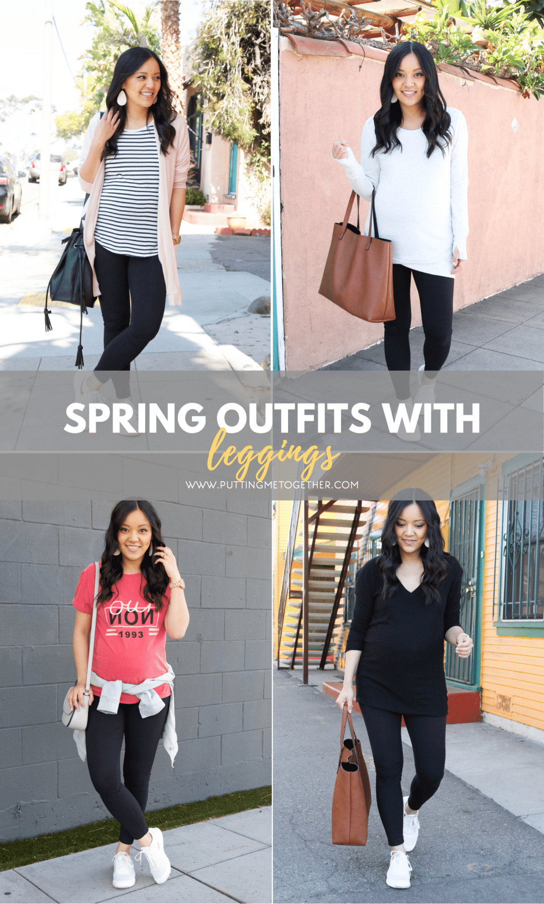 Spring Outfits With Leggings Tons Of Spring Tops For Leggings