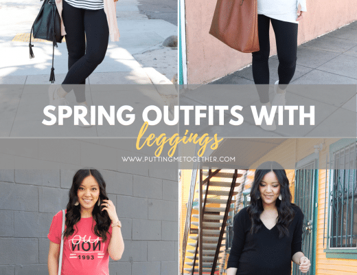 Spring Outfits With Leggings