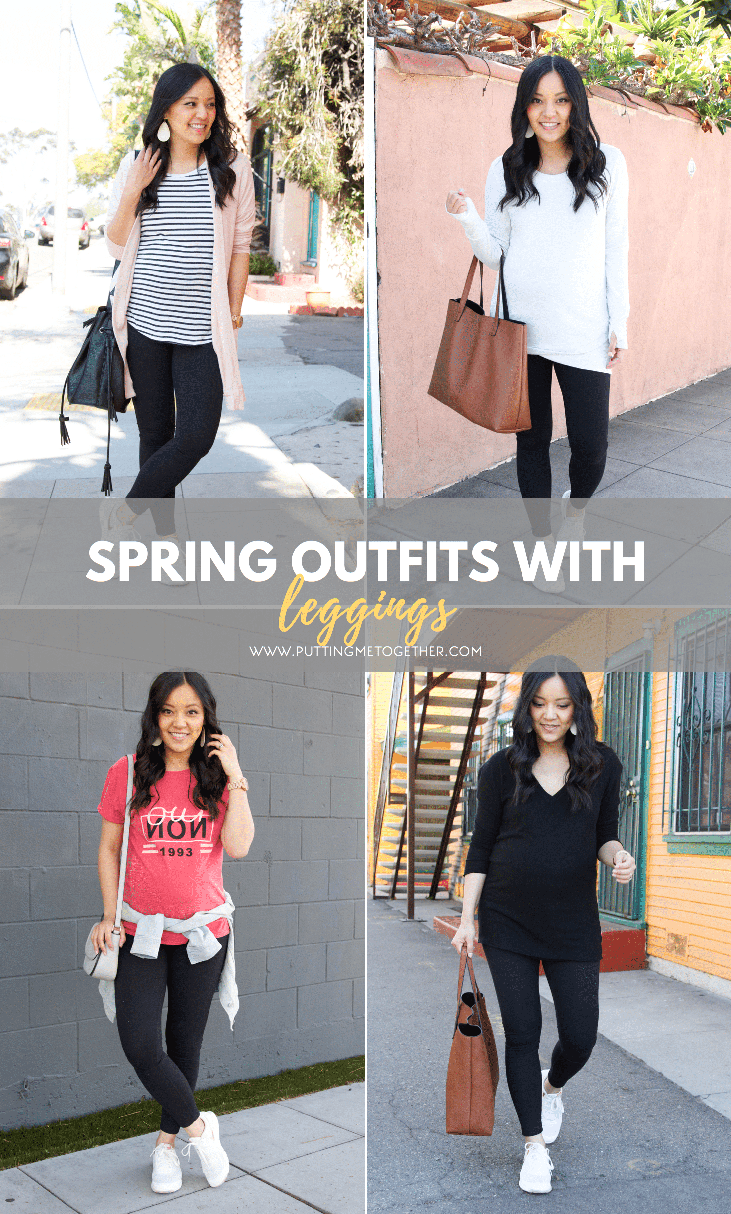229054fbcd Spring Outfits With Leggings + Tons of Spring Tops for Leggings